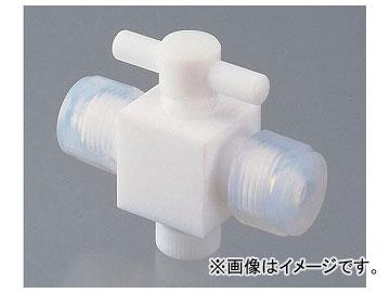 アズワン/AS ONE YK接続コック(接続型) 二方 品番:7-286-02