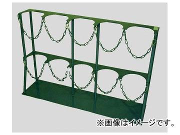 アズワン/AS ONE ボンベスタンド 1500l/2000l用×5本 品番:2-9198-05