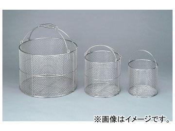 アズワン/AS ONE ステンレス洗浄カゴ 丸型 特大 品番:4-097-01 JAN:4560197333726