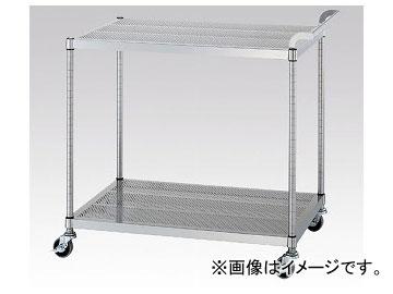 アズワン/AS ONE パンチングワゴン(ガード無し棚2段仕様) PM02-7545 品番:1-7622-02