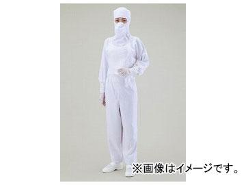 アズワン/AS ONE クリーンスーツ(光消臭繊維アクアサニー) ホワイト CH1326-1 サイズ:3L,2L,L,M,S