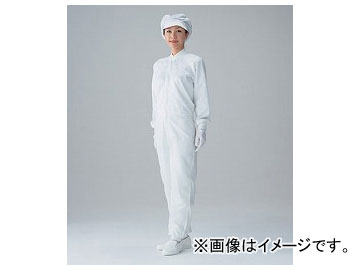 アズワン/AS ONE 無塵衣・FC136C(ホワイト) サイズ:3L,LL,L,M,S