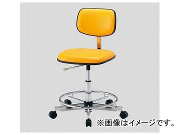 アズワン/AS ONE クリーンカラフルスタンダードチェア(クラス100対応) オレンジ LSC-OR 品番:2-670-04 JAN:4571110731031