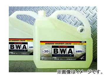 オートリファイン B W A 輸入車専用ウインドウォッシャー液 4L/1本 入数:1ケース(12本)