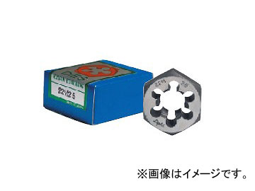 ライト精機 六角ダイス メートルネジ(M) ネジ径:M27 ピッチ:3