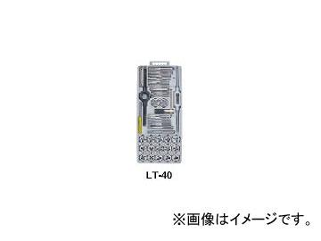 ライト精機 タップダイスセット LT-40C メートルネジ(M) 中タップ 25径 JAN:4990052081132