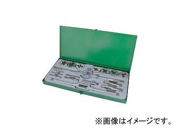 ライト精機 タップダイスセット OK1 ウィットネジ(W) 中タップ 38径 JAN:4990052054761