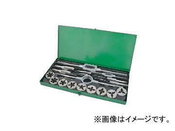 ライト精機 タップダイスセット OK50 ウィットネジ(W) 中タップ 50・75径 JAN:4990052054860