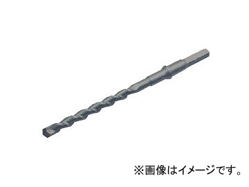 ライト精機 六角軸ハンマードリル ロングサイズ パック品 38mm 全長(mm):505 有効長(mm):390 JAN:4990052006500