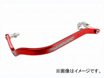 2輪 ZETA アーマーハンドガード ベンド SXハンドルバー用(28.6mm) レッド ZE72-0104 JAN:4547836072406