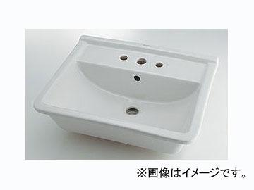 カクダイ 角型洗面器 3ホール 品番:#DU-0302560030 JAN:4972353051427