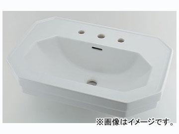 カクダイ 壁掛洗面器 3ホール 品番:#DU-0438700030 JAN:4972353051441