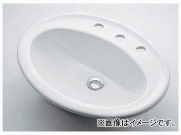 カクダイ 丸型洗面器 3ホール 品番:#DU-0472560030 JAN:4972353003945