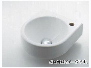 カクダイ 壁掛手洗器 Rホール 品番:#DU-0766350008 JAN:4972353021475