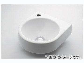 カクダイ 壁掛手洗器 Lホール 品番:#DU-0766350009 JAN:4972353003976