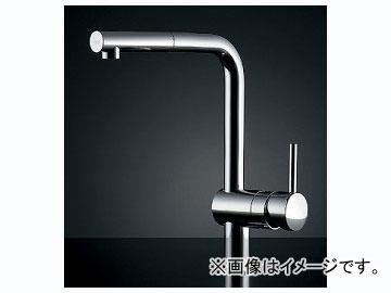 カクダイ シングルレバー引出し混合栓 品番:#GR-3216800J JAN:4972353016266