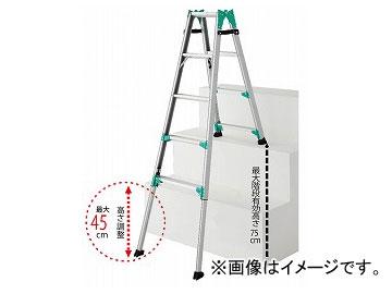 長谷川工業/HASEGAWA 階段用脚部伸縮式脚立 はしご兼用 RYE1.0-15(16380)