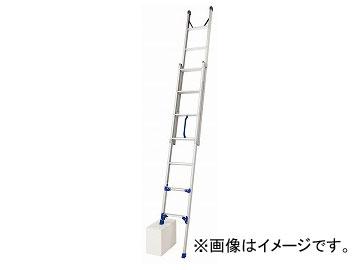 長谷川工業/HASEGAWA 2連はしご 手上げ式 脚部伸縮式 LU2 1.0-38(16796)