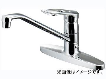 カクダイ シングルレバー混合栓(分水孔つき) 品番:116-104K JAN:4972353027620