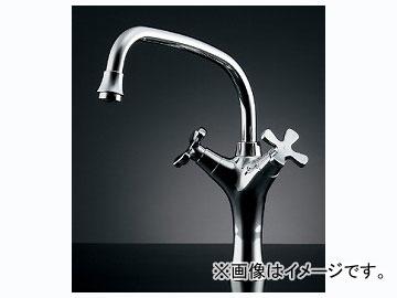 カクダイ 2ハンドル混合栓 品番:150-420 JAN:4972353013258