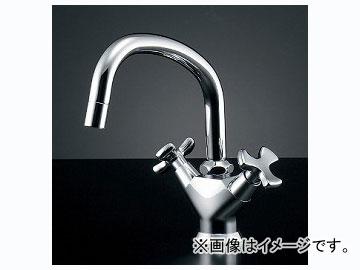 カクダイ 2ハンドル混合栓 品番:150-424 JAN:4972353016297
