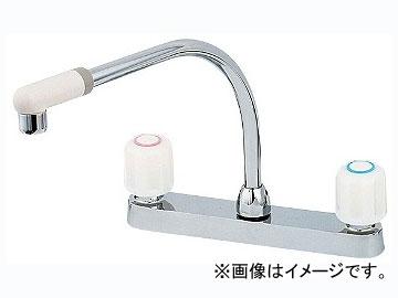 カクダイ 2ハンドル混合栓 品番:151-005K JAN:4972353151134