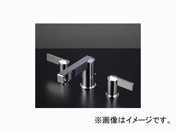 カクダイ 2ハンドル混合栓 品番:153-006 JAN:4972353153046