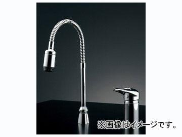 カクダイ シングルレバー混合栓(シャワーつき) 品番:185-516K JAN:4972353046195