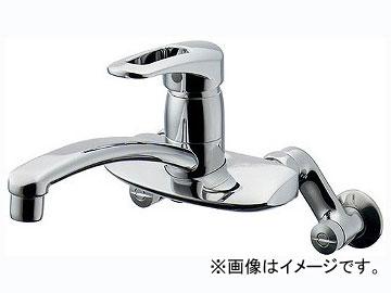 カクダイ シングルレバー混合栓 品番:192-128K JAN:4972353055074