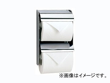 カクダイ ツインペーパーホルダー 品番:203-012 JAN:4972353203291