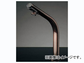 カクダイ 小型電気温水器(センサー水栓つき・ブロンズ) 品番:239-002-2 JAN:4972353022052