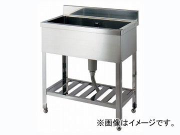 カクダイ ステンレスシンク(1槽式) 品番:457-102-120 JAN:4972353041152