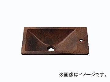 カクダイ 角型手洗器 窯肌 品番:493-010-M JAN:4972353493166