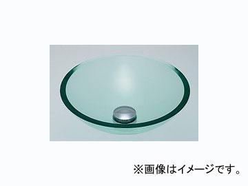 カクダイ ガラス丸型洗面器 クリア 品番:493-025-C JAN:4972353493432