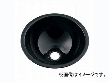 カクダイ 丸型手洗器 ブラック 品番:493-026-D JAN:4972353003235