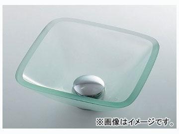 カクダイ ガラス角型手洗器 品番:493-029-C JAN:4972353003280