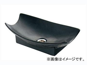 カクダイ 舟型手水鉢 砂鉄 品番:624-935 JAN:4972353032167