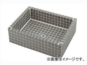 カクダイ 水栓柱パン(タイル張り・灰緑) 品番:624-971 JAN:4972353054671