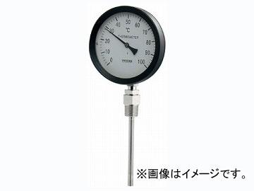カクダイ バイメタル製温度計(ストレート型) 品番:649-907-100A JAN:4972353038732