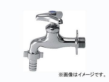 カクダイ カップリング付き横水栓 品番:7030KK-25 JAN:4972353703050