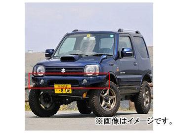 アピオ/APIO タクティカルフロントバンパーガーニッシュ 品番:3032-52 スズキ ジムニー JB23