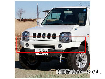 アピオ/APIO タクティカルフロントバンパーガーニッシュ 品番:3032-51 スズキ ジムニーシエラ JB43