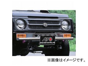 アピオ/APIO ステンレス フロントバンパー 品番:3101-2 スズキ ジムニー SJ30,JA11/12/22/71