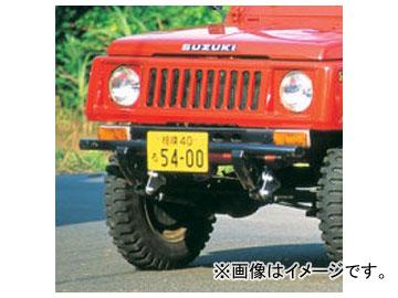アピオ/APIO しし狩りバンパー・タイプ1(ステンレス製) 品番:3102-12 スズキ ジムニー SJ30/40,JA系