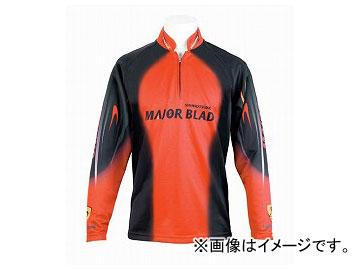 下野/SHIMOTSUKE MJBクールマックスシャツ SMS-430 オレンジ サイズ:M,LL,3L
