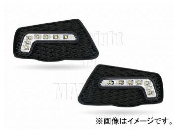 エムイーコーポレーション MAX Super Vision MAX-LEDデイタイムランニングライト付 フロントエアインテイク Type-2 品番:232700 W204 Cクラス エレガンス