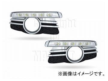 エムイーコーポレーション MAX Super Vision MAX-LEDデイタイムランニングライト付 フロントエアインテイク Type-2 品番:232702 W204 Cクラス エレガンス