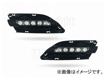 エムイーコーポレーション MAX Super Vision MAX-LEDデイタイムランニングライト付 フロントエアインテイク Type-2 品番:232710 BMW E90 3シリーズ セダン