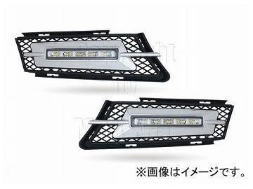エムイーコーポレーション MAX Super Vision MAX-LEDデイタイムランニングライト付 フロントエアインテイク Type-2 品番:232709 BMW E91 3シリーズ ツーリング