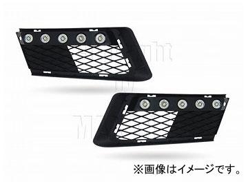 エムイーコーポレーション MAX Super Vision MAX-LEDデイタイムランニングライト付 フロントエアインテイク Type-2 品番:232711 BMW E92 3シリーズ カブリオレ